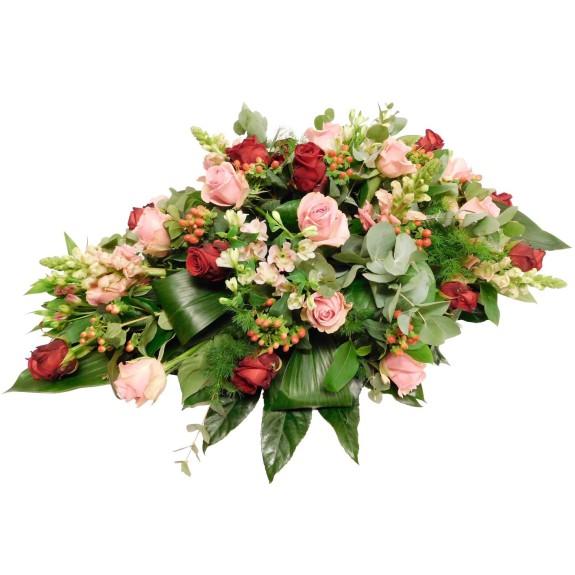 Ovaal Roze-Rode Roos