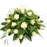 Biedermeier witte roos