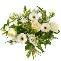 Boeket Gemengde witte bloemen