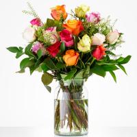 Boeket Kleurrijke rozen